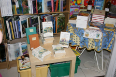 Display inside the bookshop